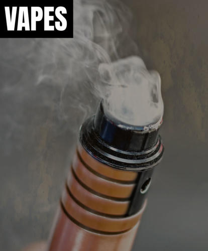 Vapes count as tobacco